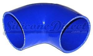 "89mm ID (3.5"") 90 Degree Elbow - Blue"