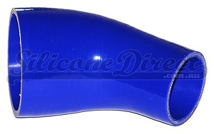 "76mm to 51mm ID (3-2"") 45 Degree Reducing Elbow - Blue"