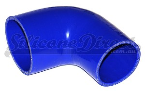 "70mm to 57mm ID (2.75-2.25"") 90 Degree Reducing Elbow - Blue"