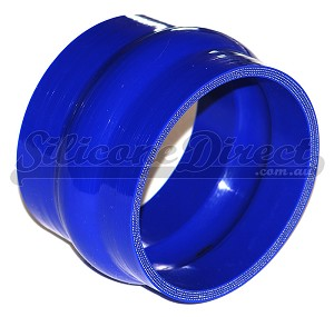 "102mm ID (4"") Straight Humped Joiner - Blue"