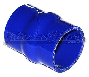"51mm ID (2"") Straight Humped Joiner - Blue"