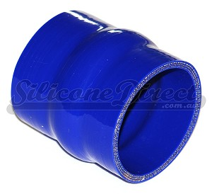 "63mm ID (2.5"") Straight Humped Joiner - Blue"