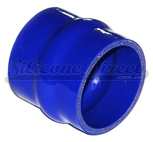"76mm ID (3"") Straight Humped Joiner - Blue"