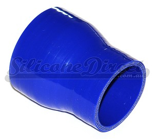 "63mm to 51mm ID (2.5-2"") Straight Reducer - Blue"