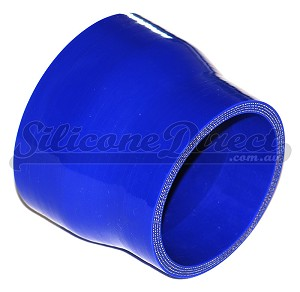 "89mm to 76mm ID (3.5-3"") Straight Reducer - Blue"