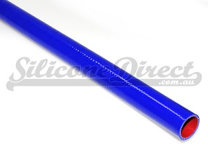 "1 Meter 19mm ID (3/4"") Oil & Fuel Resistant Straight Hose - Blue"